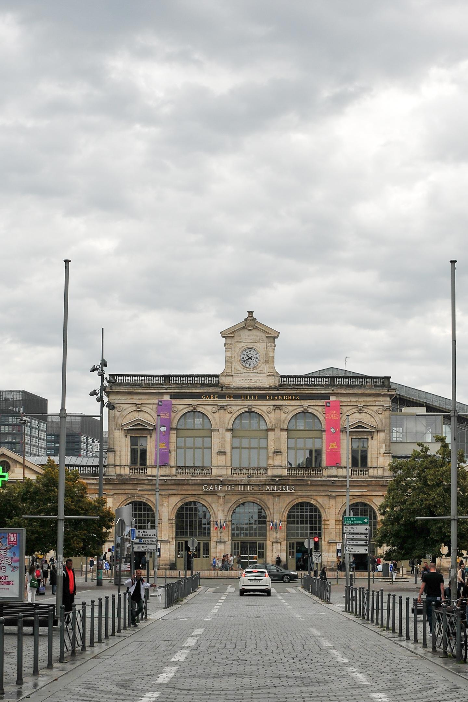 Lille Diaries Dag 1 Frankrijk centraal station trein