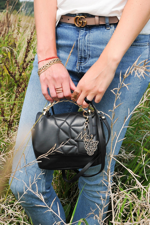 How I style little black bag MARC CAIN Jeroen Beekman