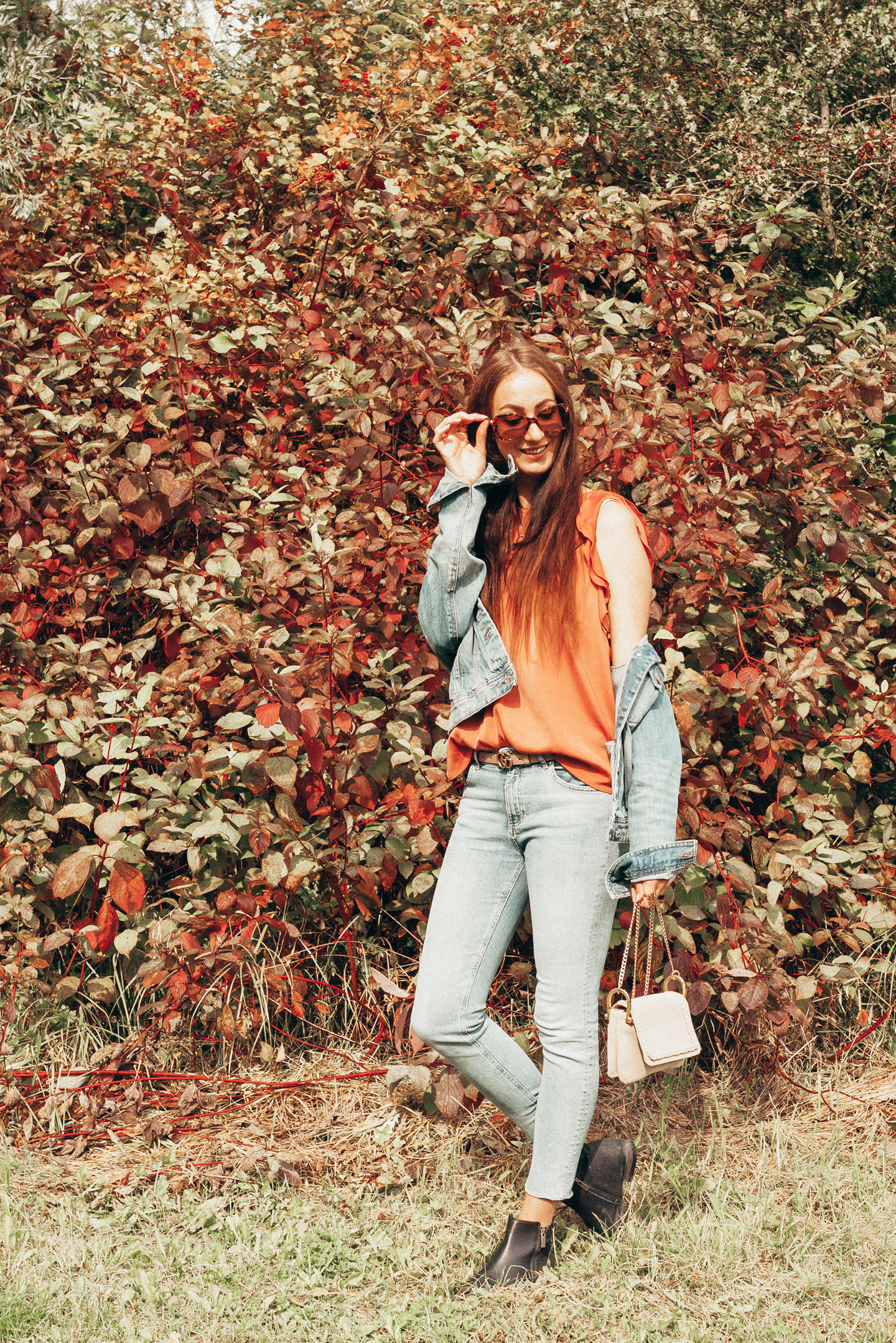 OOTD autumn is here fall outfit lifestyle by linda