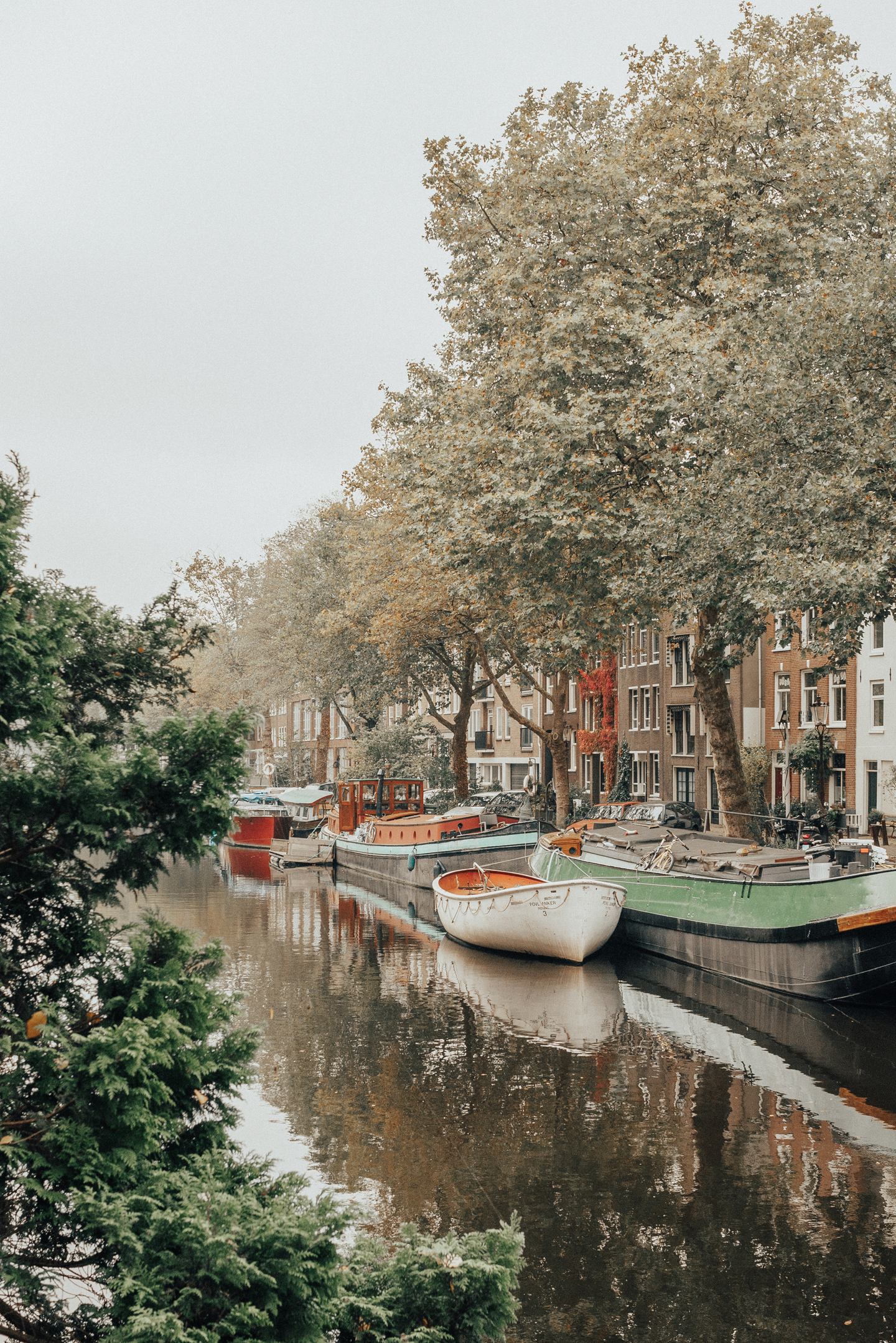 Amsterdam canals autumn fall 2017