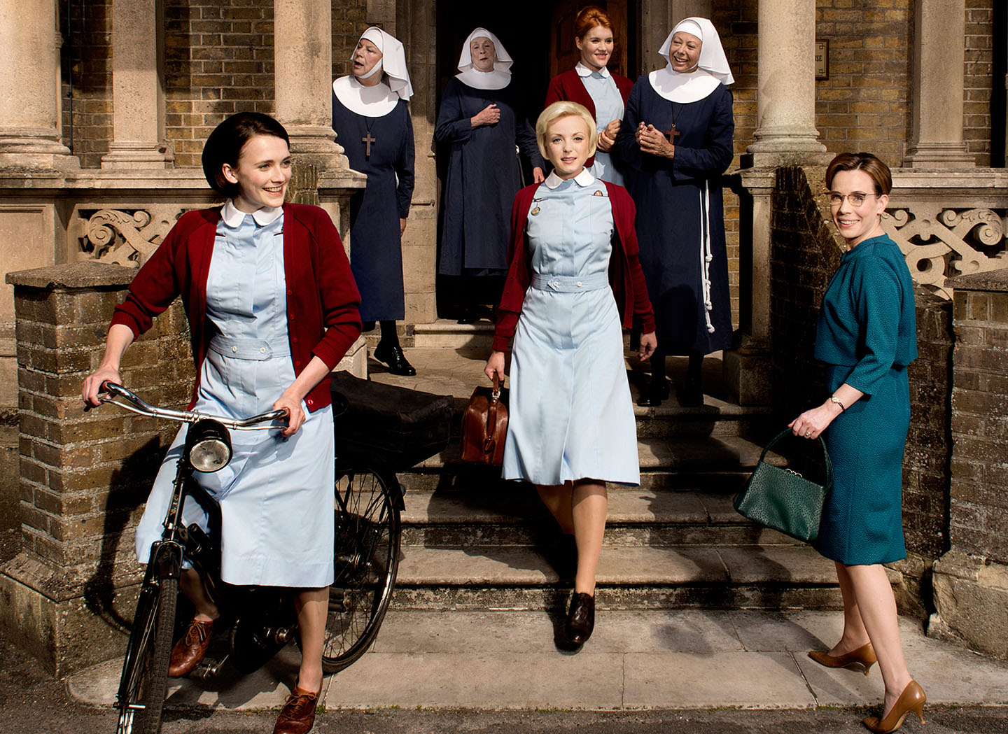 Call the Midwife Netflix kostuumdrama's