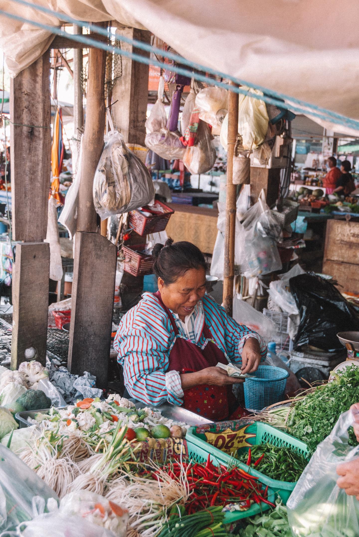Chiang Rai Thailand market
