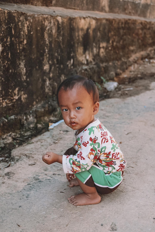 Chiang Rai Thailand Akha Hill Tribe