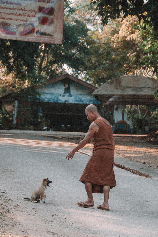 Chiang Rai Thailand monk