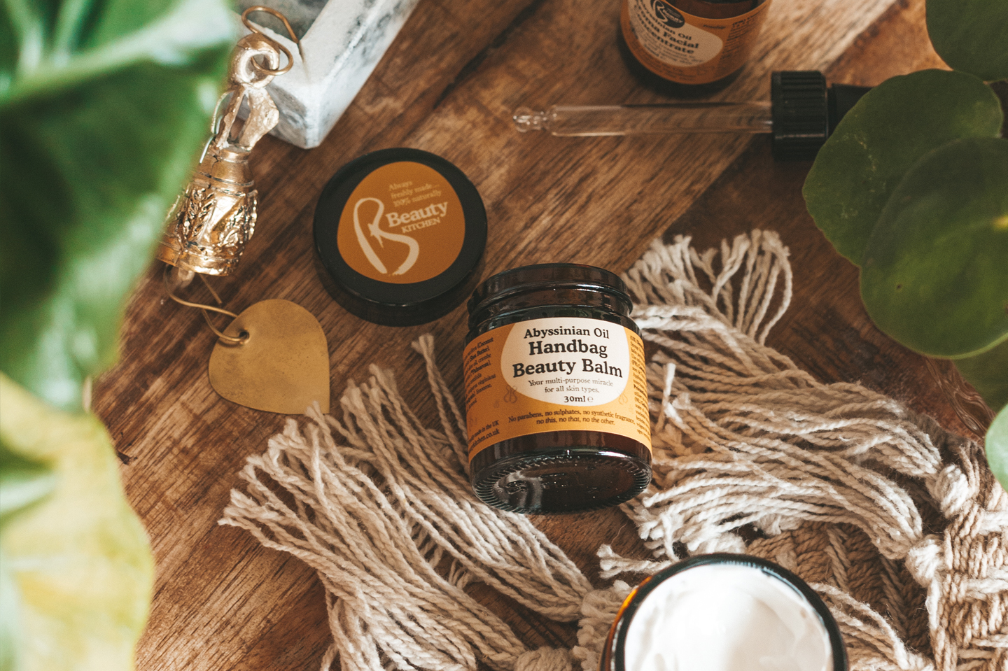 De Abyssinian Oil skincare lijn Beauty Kitchen