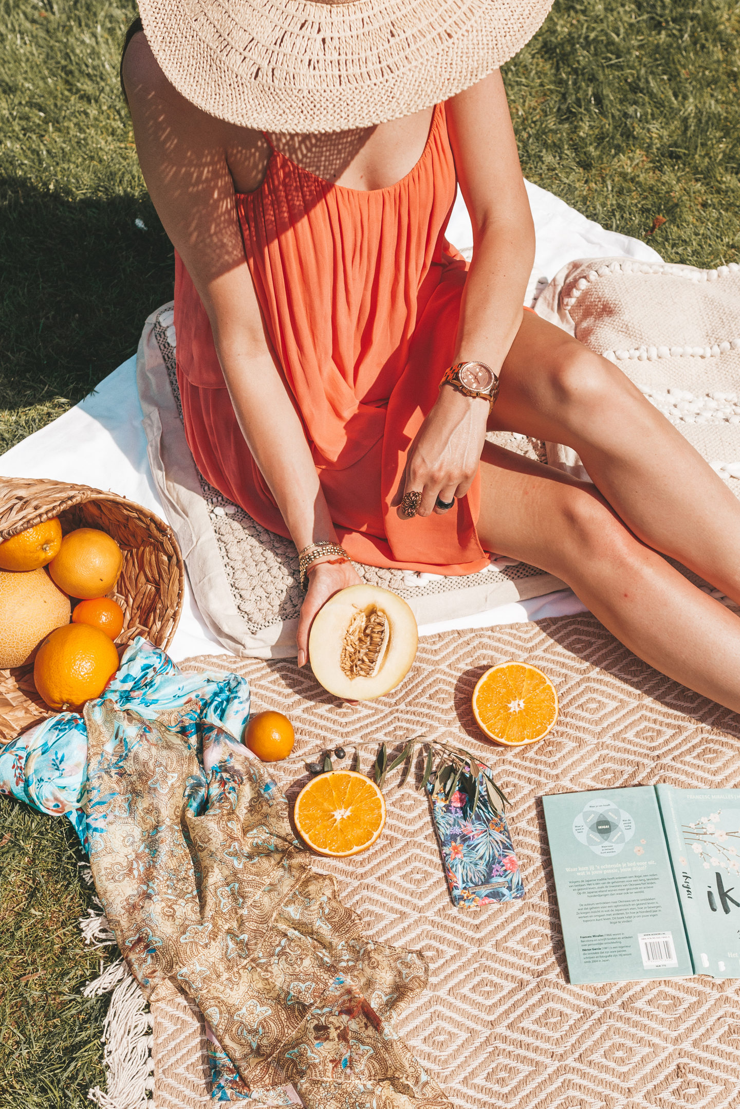 boho spring picnic ideal of sweden