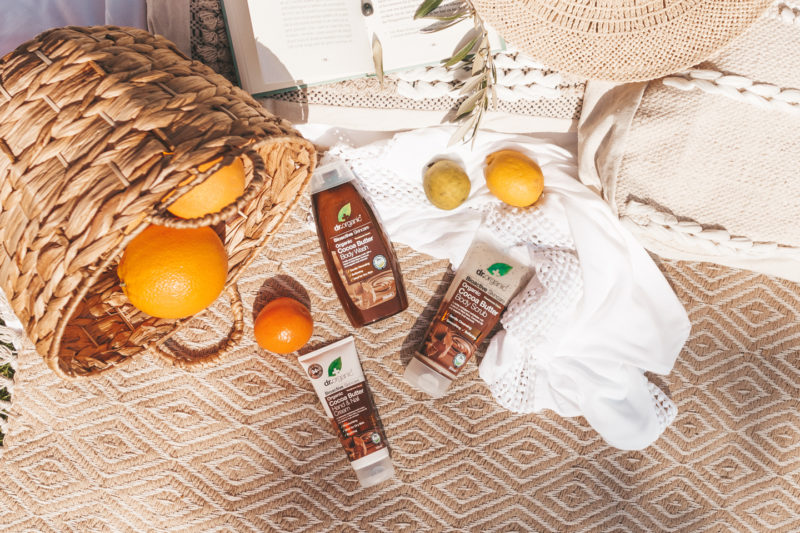 Dr. Organic – Cocoa Butter lijn (vegan)