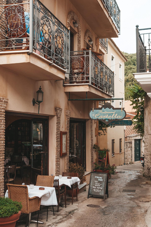 Places to eat in Parga Castello