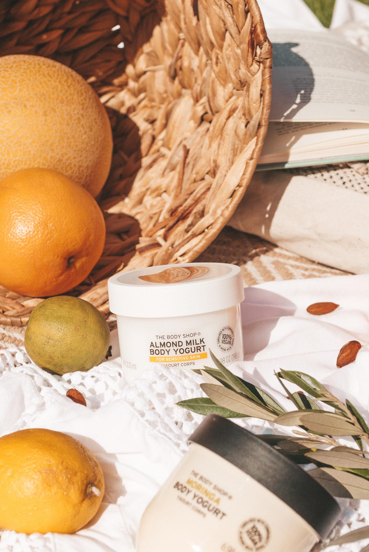 The body Shop Body Yoghurt vegan