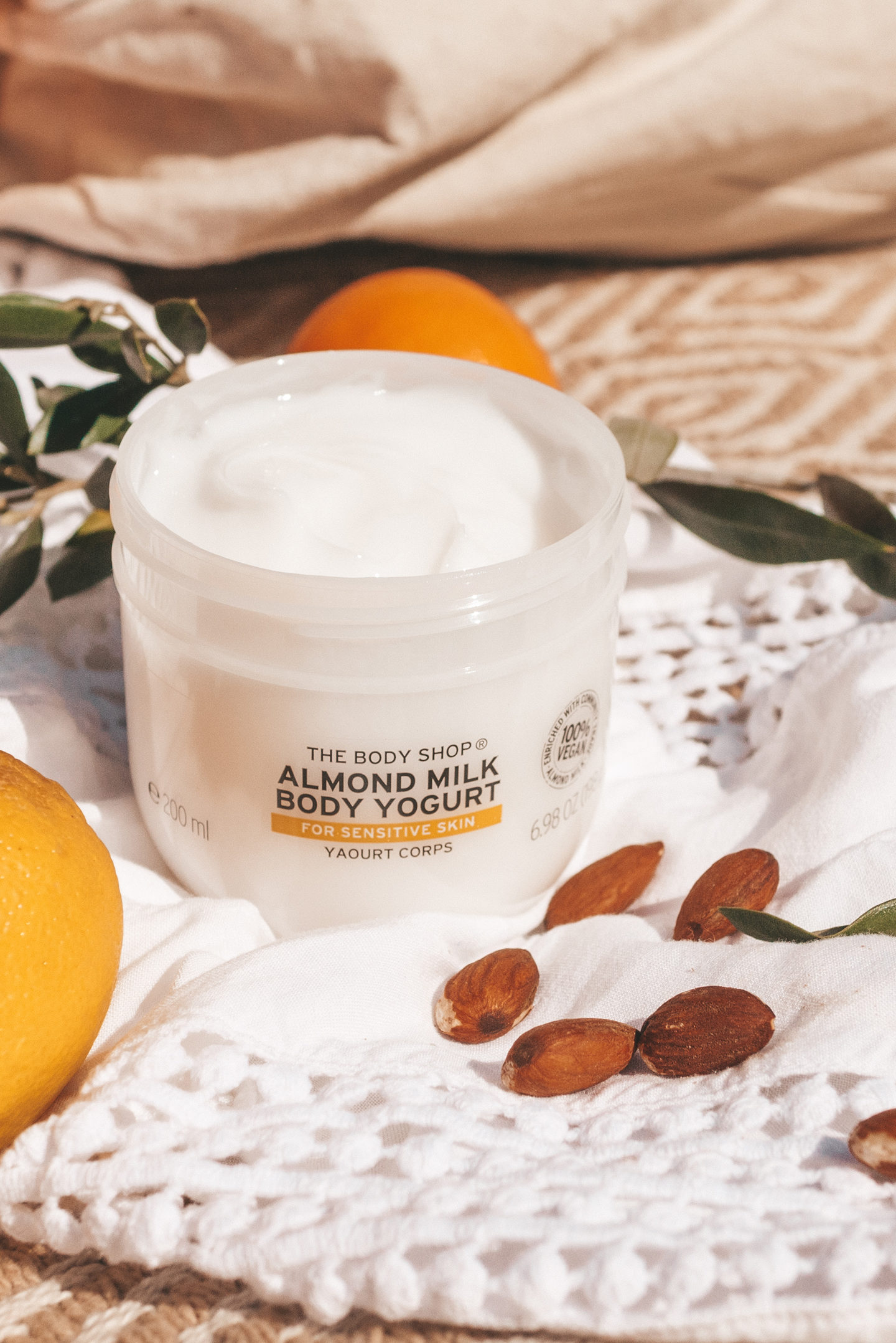 The body Shop Body Yoghurt vegan