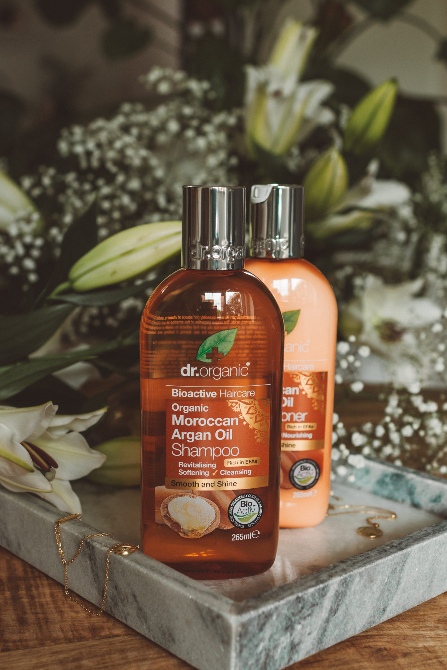 Dr. Organic Moroccan Argan Oil hair care