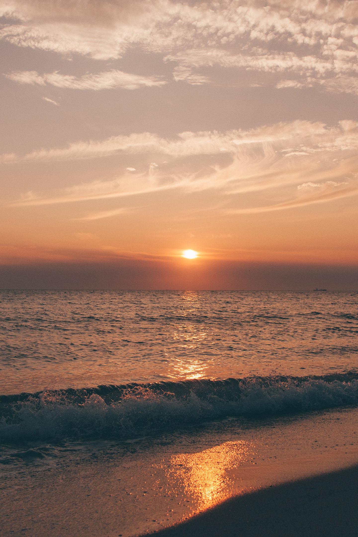 Beach Sunset Maasvlakte