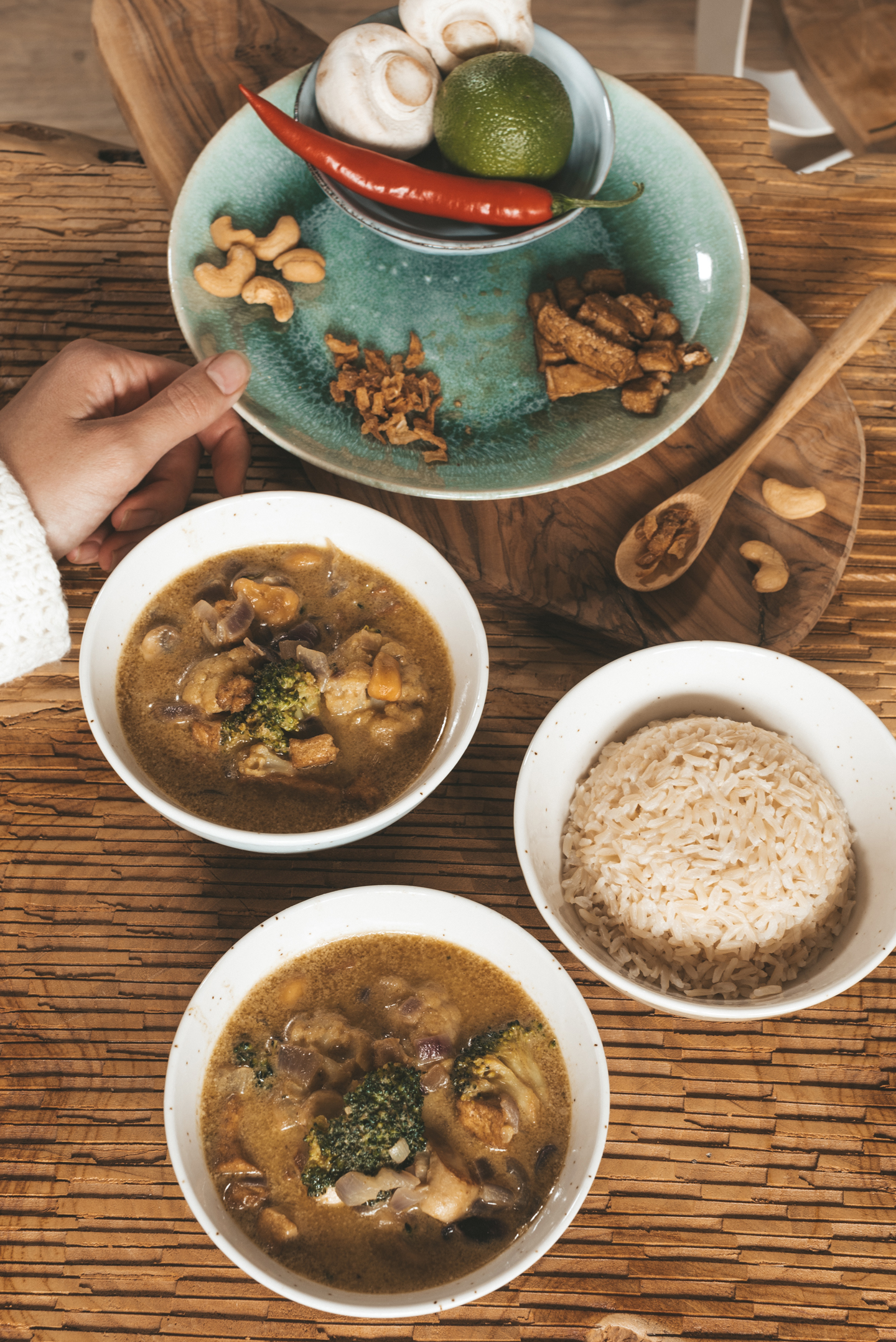 Vegan Thaise curry recept Linda's Wholesome Life