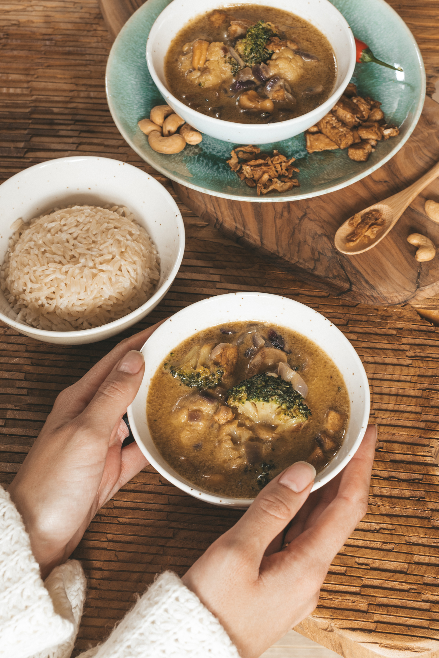 Vegan Thaise curry recept
