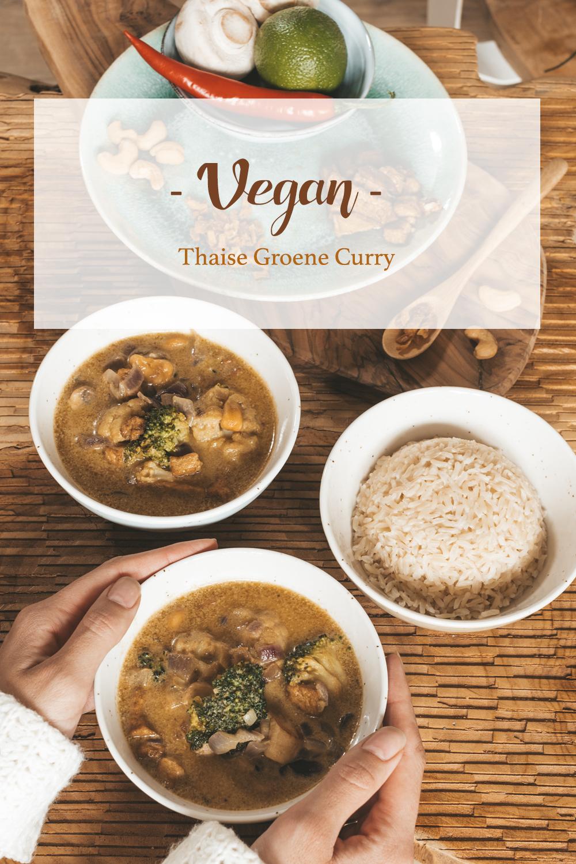 Vegan Thaise curry recept