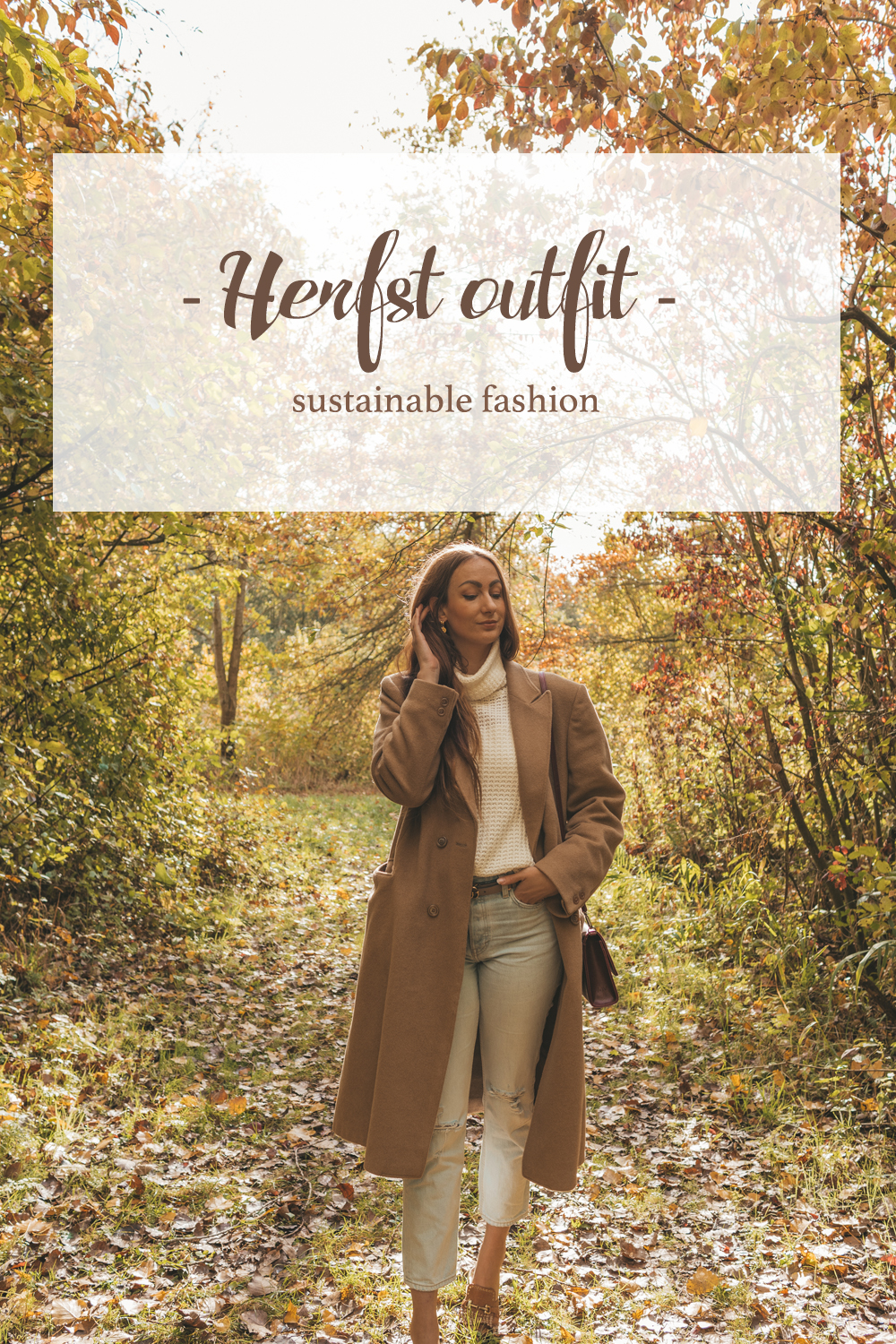 Herfst outfit sustainable fashion