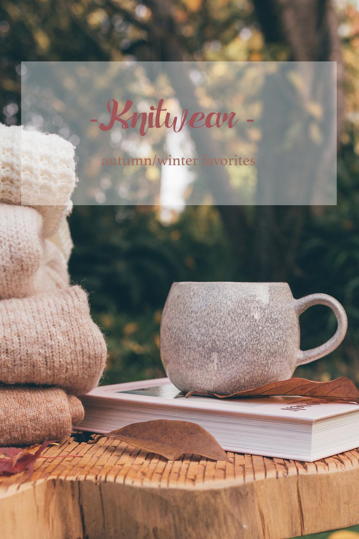 Favorite knitwear autumn winter 2018