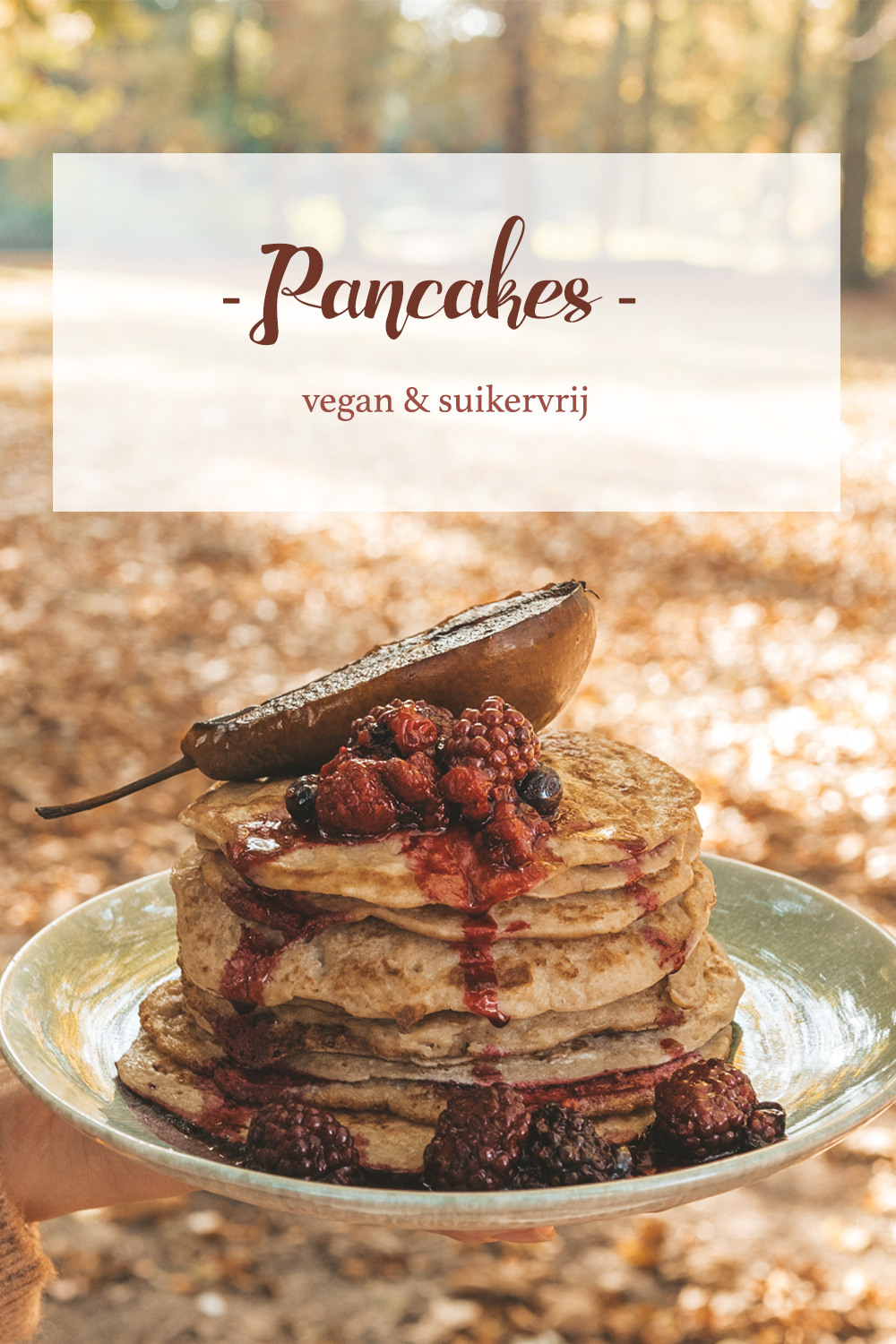 Vegan Pancakes Linda's Wholesome Life