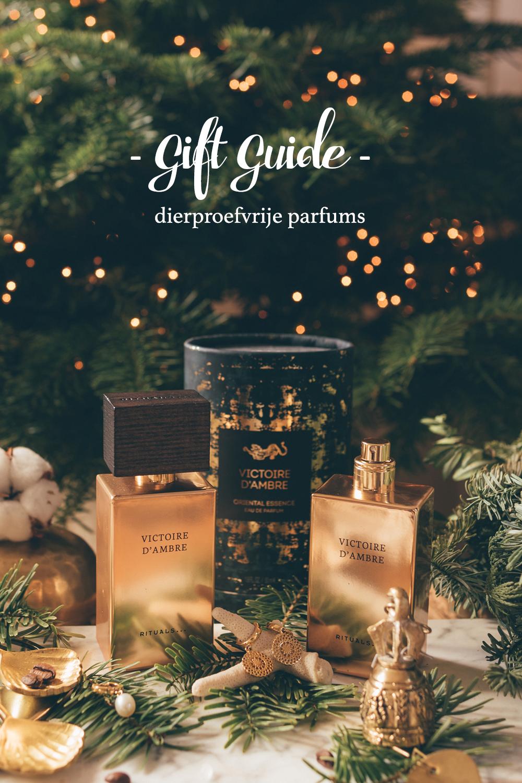 Gift Guide dierproefvrij parfum