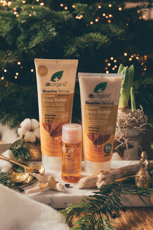 Gift Guide cruelty free skincare Dr. Organic Shea Butter