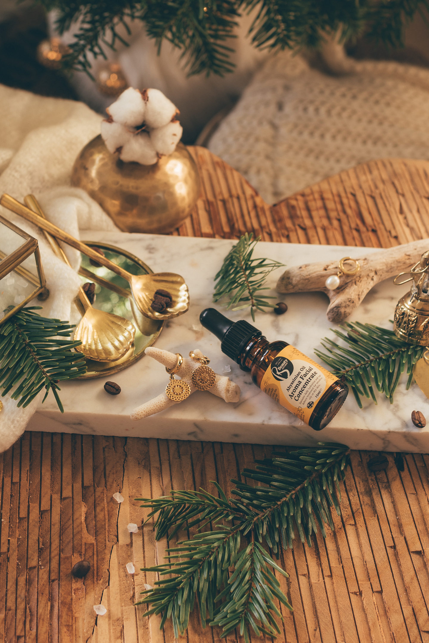 Gift Guide cruelty free skincare Abyssinian Oil Pick Me Ups Beauty Kitchen