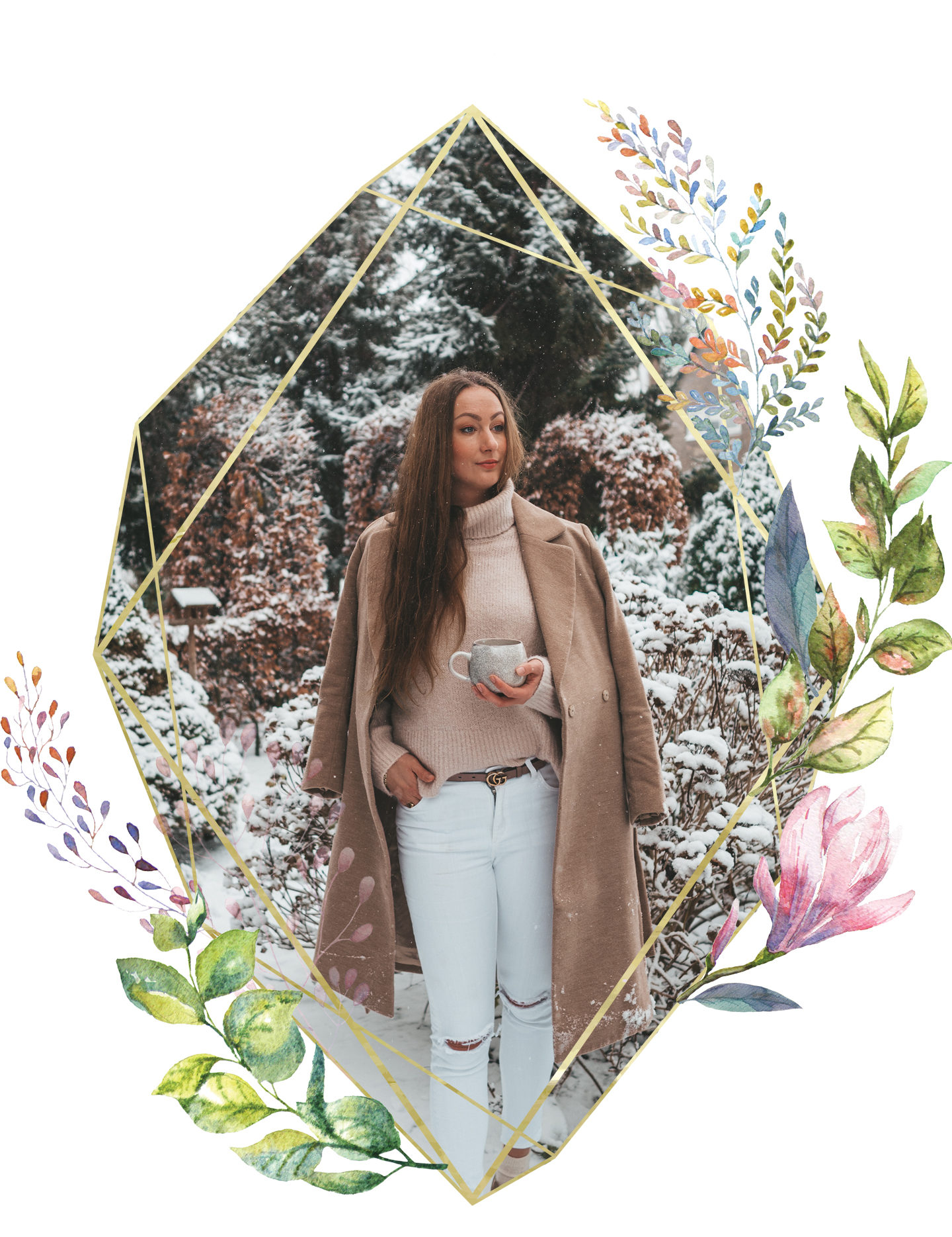 Self Love Routine Linda's Wholesome Life Beige Winter outfit
