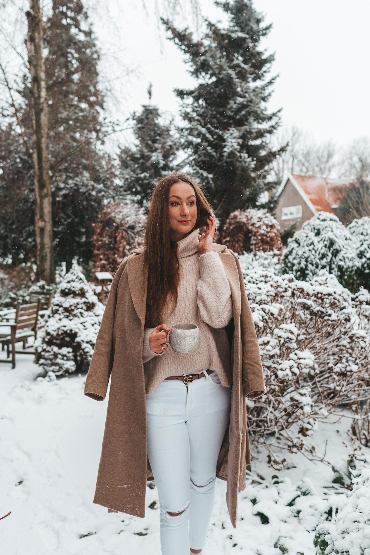 Self Love Routine Linda's Wholesome Life Beige Winter OOTD