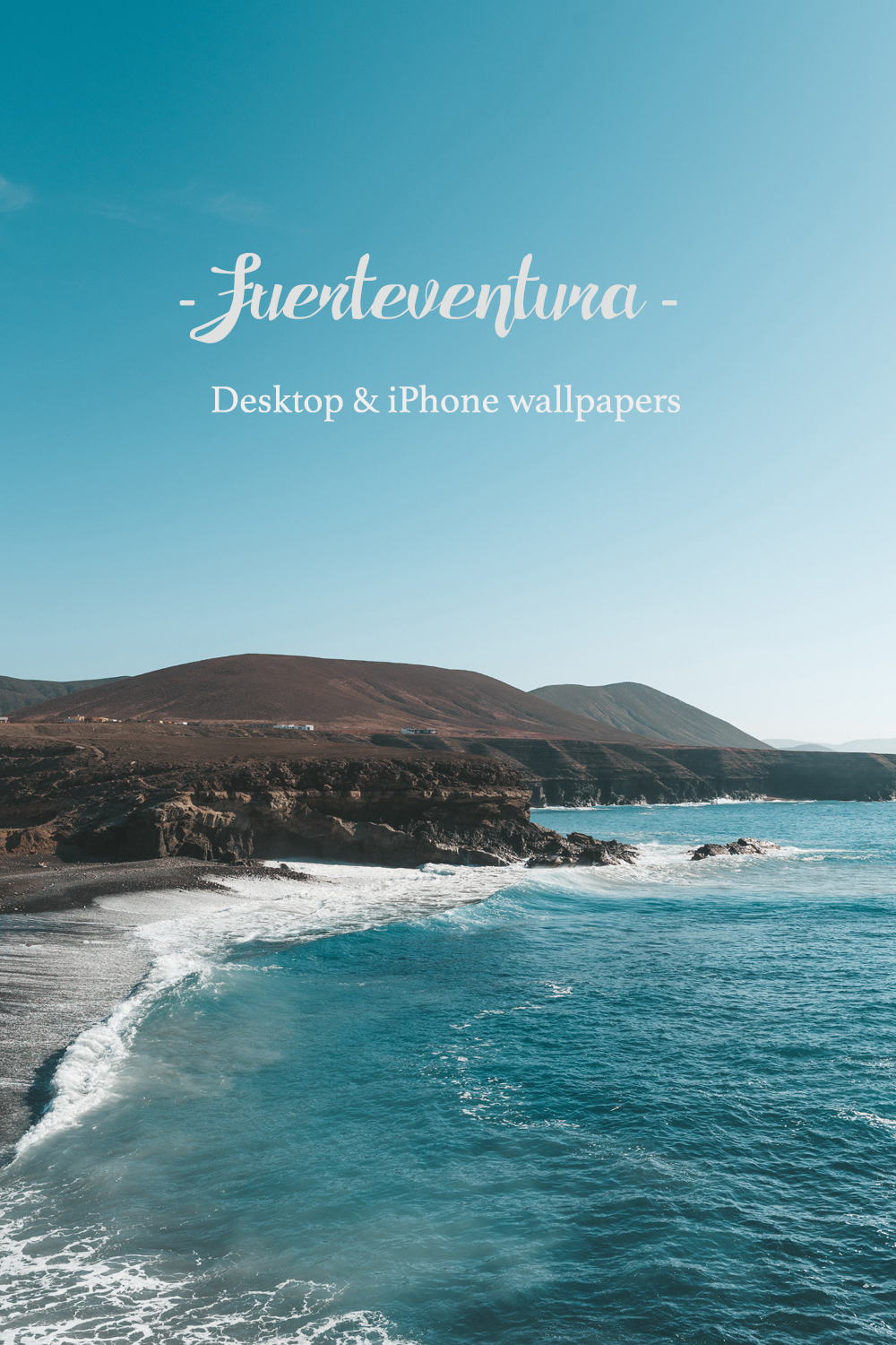 Fuerteventura Spain Canary Islands Desktop & iPhone wallpapers