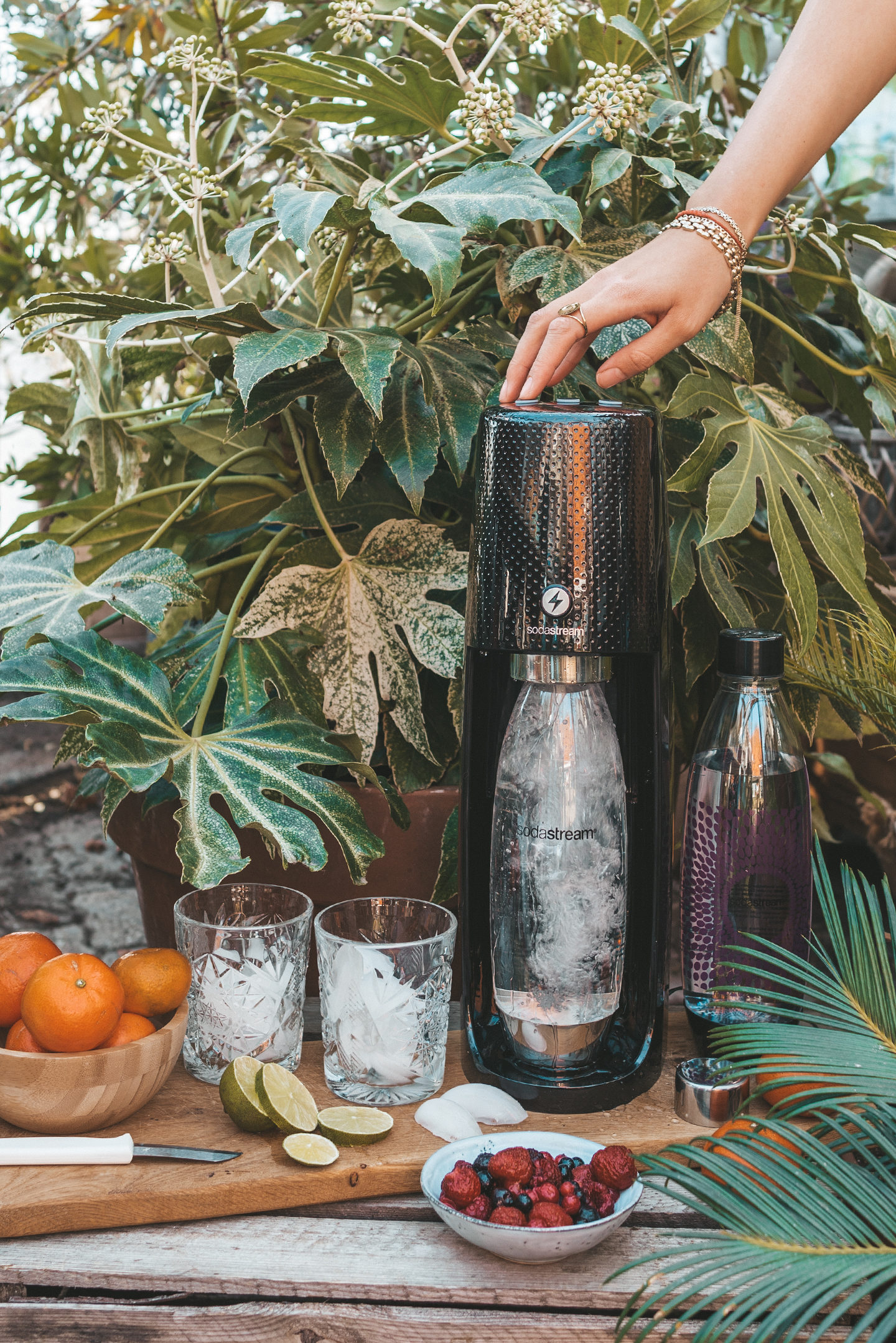 SodaStream Spirit One Touch Zwart Linda's wholesome Life