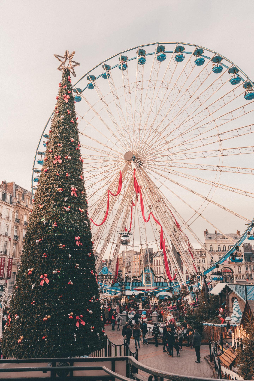 Lille Frankrijk Rijsel Kerstmarkt Christmas