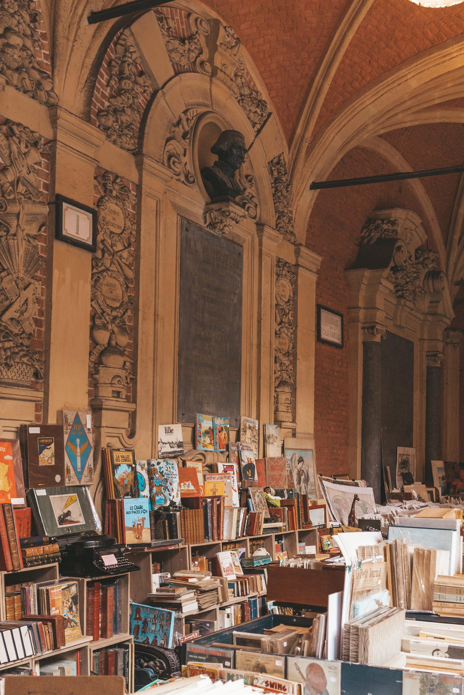 Lille Frankrijk Rijsel city trip Boekenmarkt