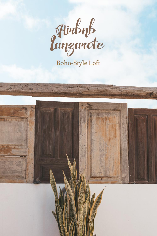 Apartamento Estudio Lyra Nazaret Lanzarote Boho Loft Pinterest