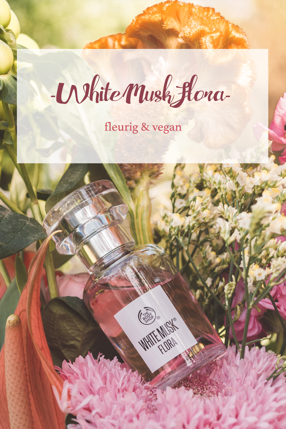 White Musk Flora The Body Shop Vegan parfum