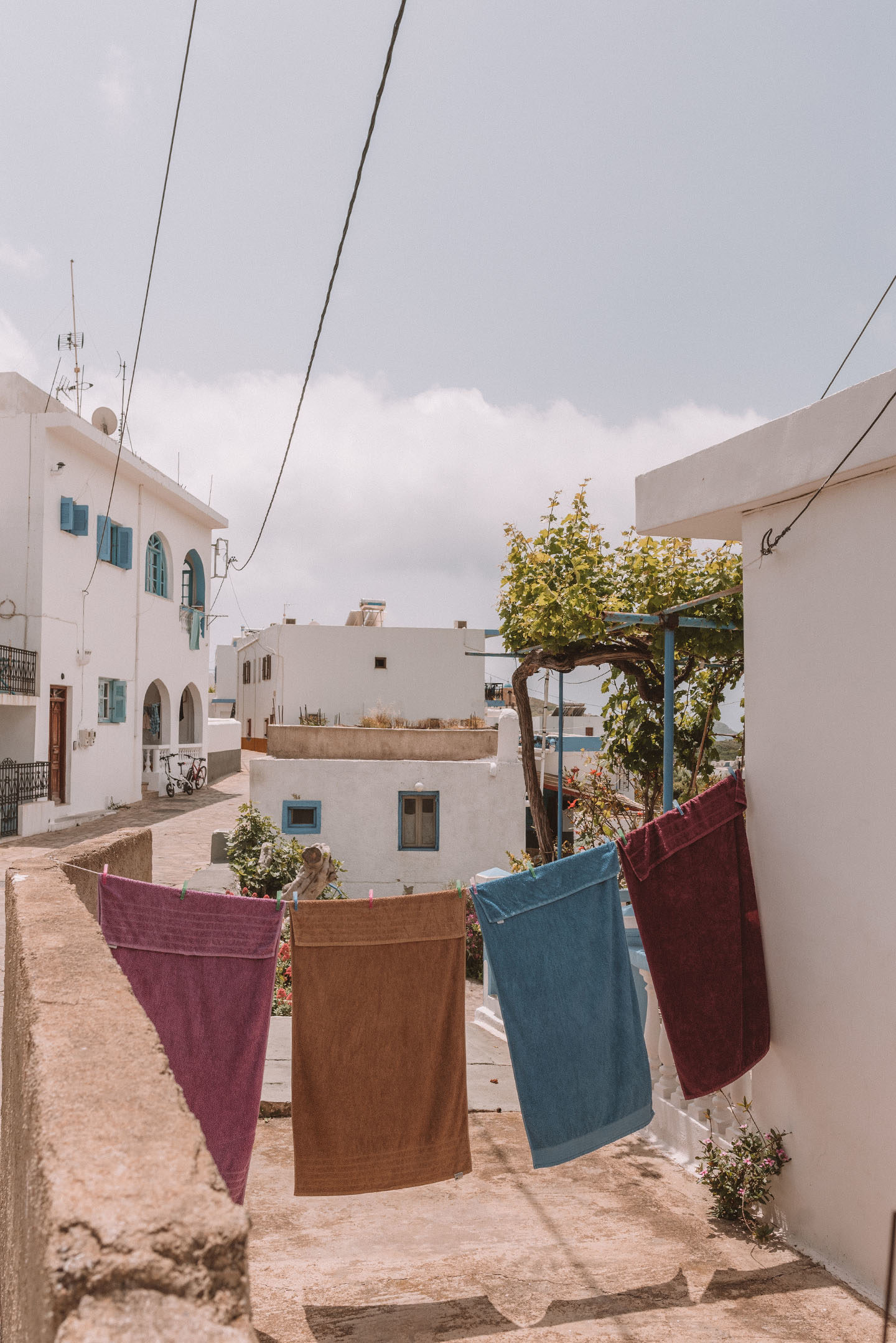 Lipsi Greece Laundry Day