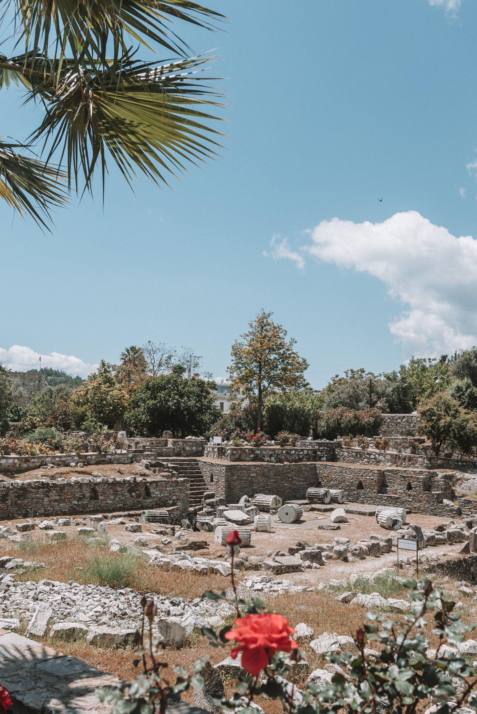 Mausoleum van Halicarnassus Bodrum