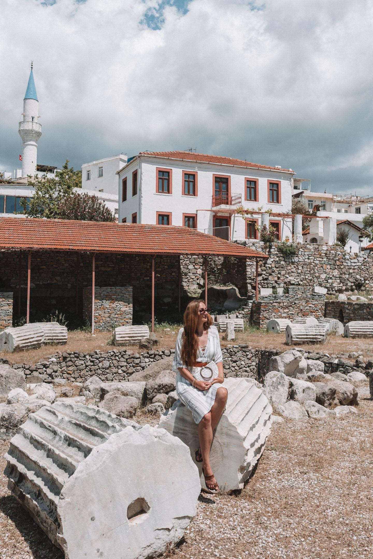 Mausoleum van Halicarnassus Turkije