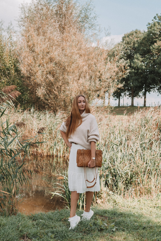 Pre fall outfit natuurlijke tinten