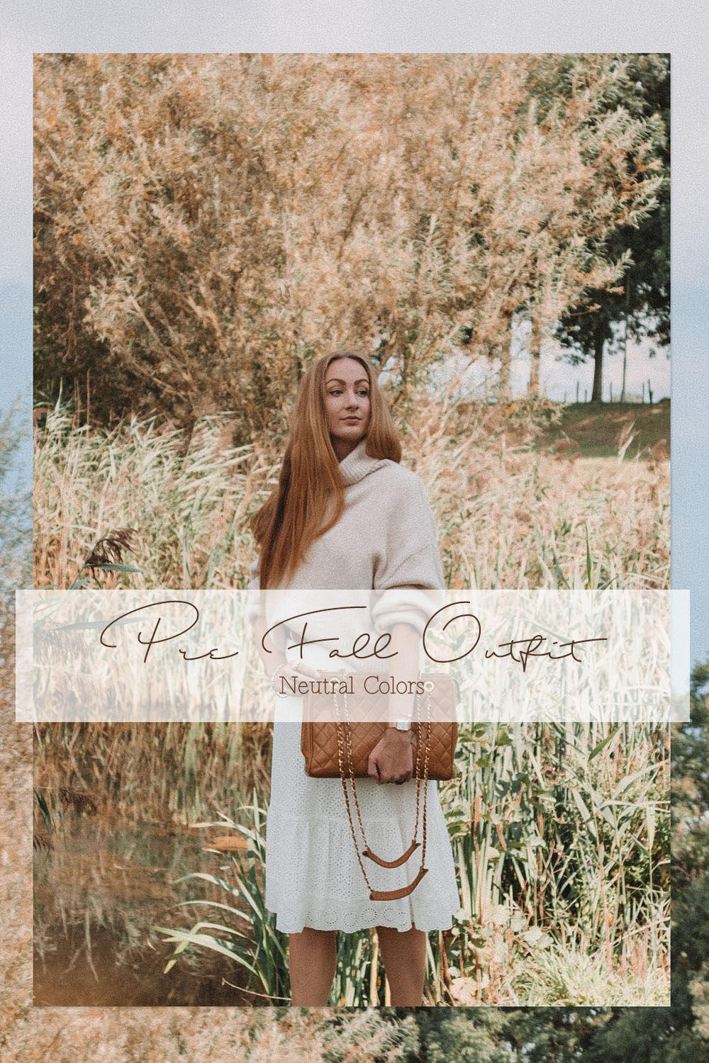 Pre-fall outfit neutral colors