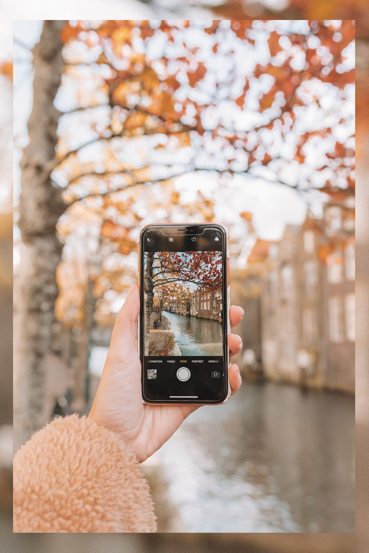 Mooie foto's maken met je iPhone mobiel