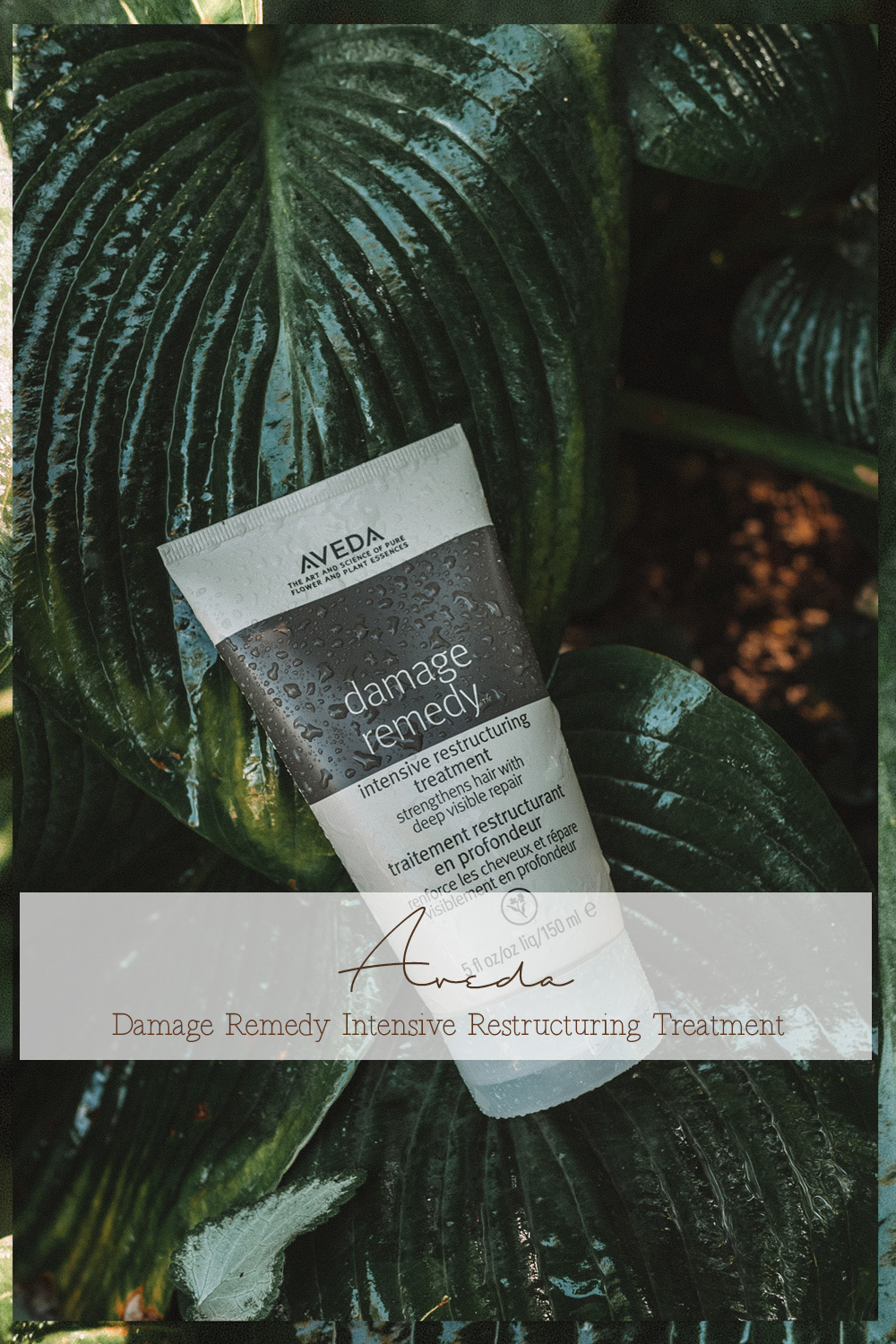 Aveda Damage Remedy intensive restructuring treatment Linda's Wholesome Life