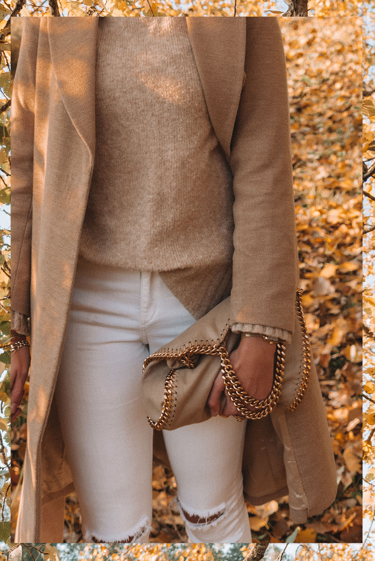 Minimal Winter Outfit Earth Tones Falabella