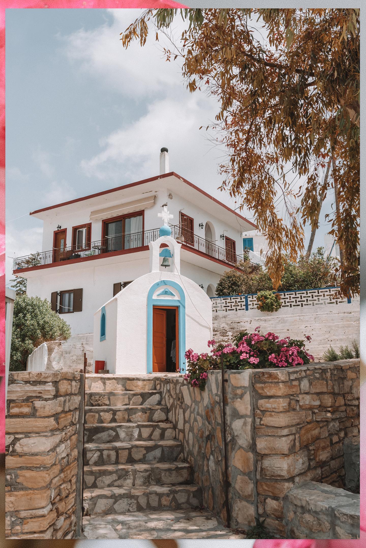 Lipsi centrum Griekenland