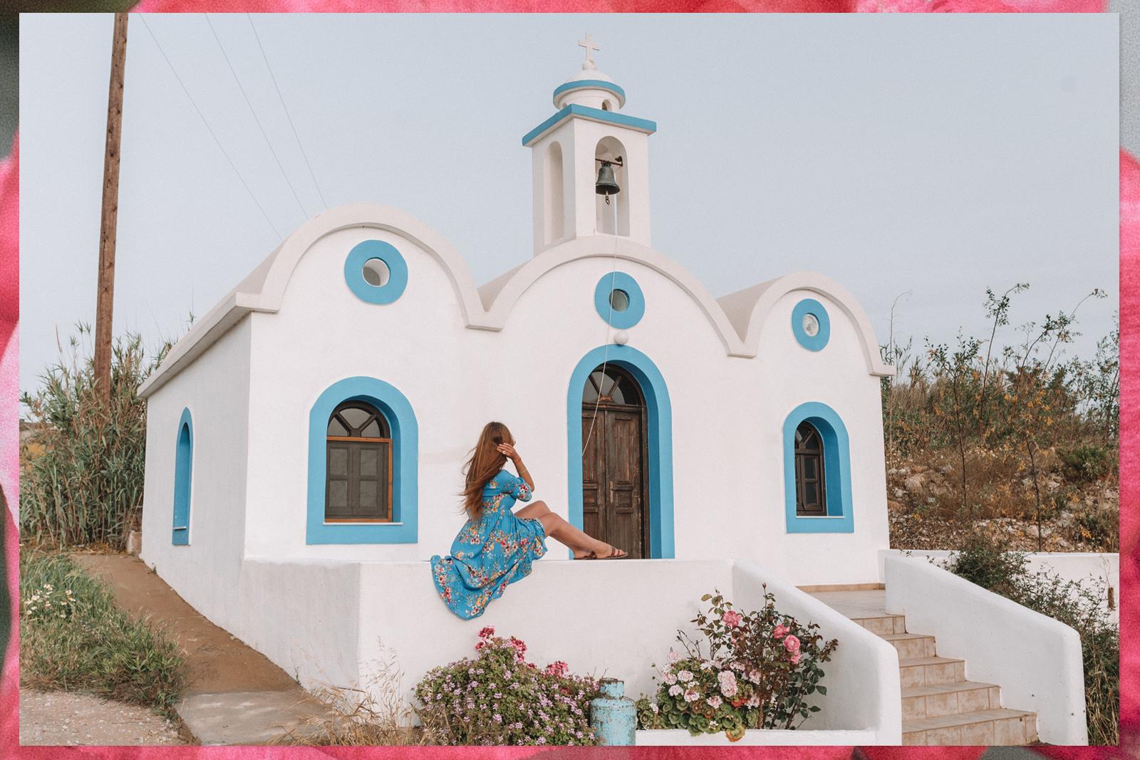 Kerkje Lipsi Griekenland