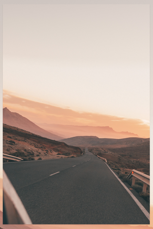 Fuerteventura Roadtrip sunset