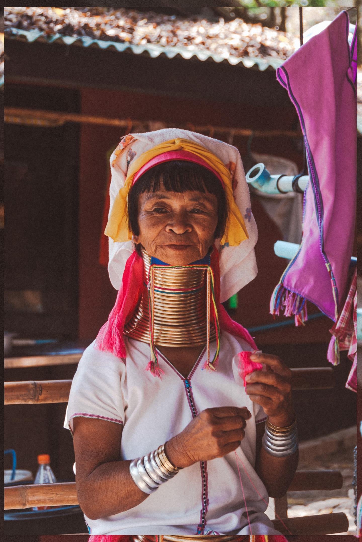 Kayan Red Karen Long Neck Village Tachileik Myanmar