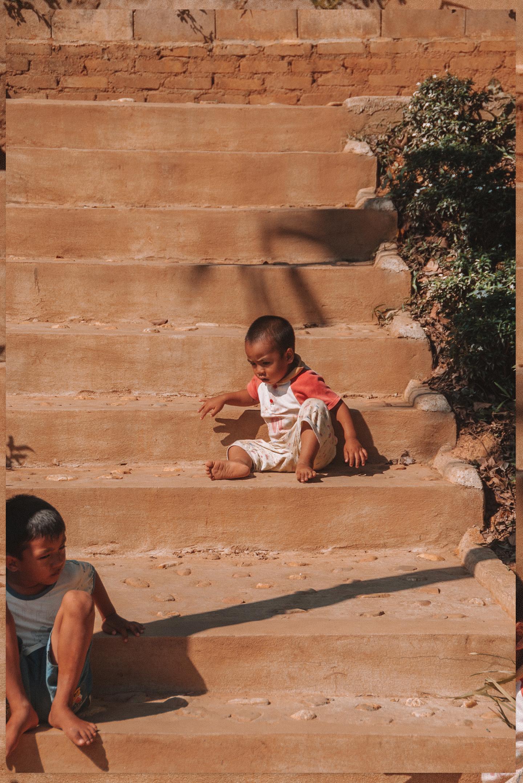 Long Neck Village Tachileik Myanmar