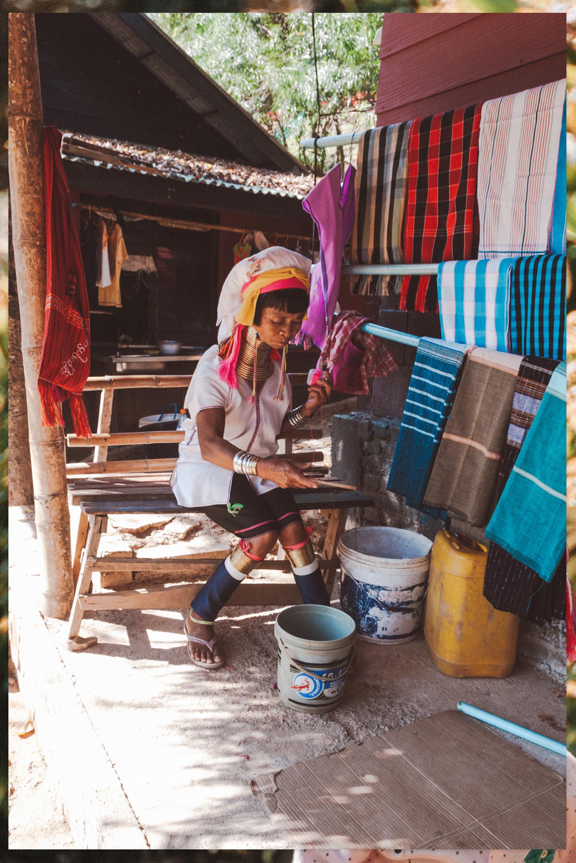 Padaung vrouwen Tachileik Myanmar
