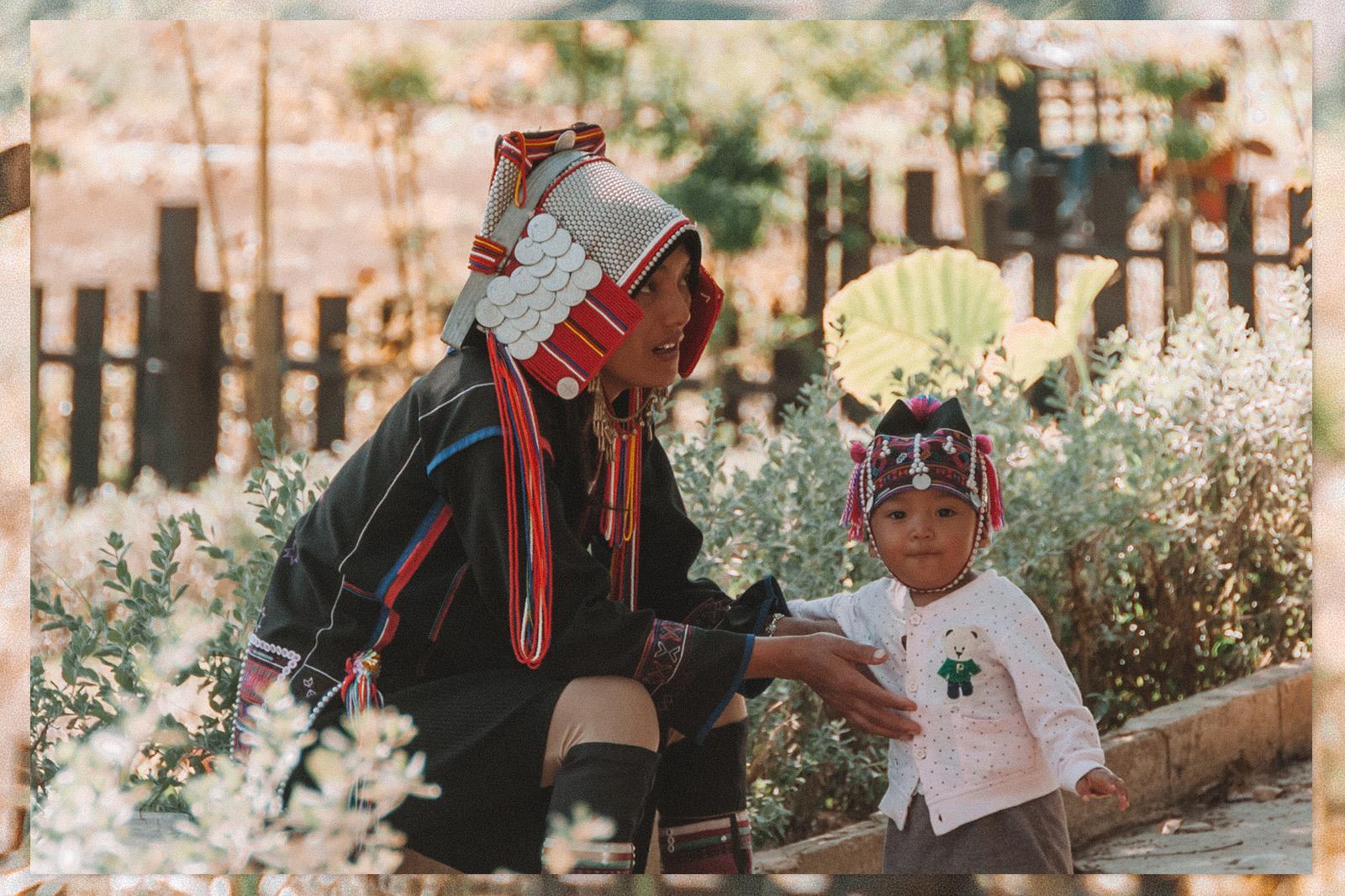 Kayan Lahwi Red Karen Long Neck Village Tachileik Myanmar