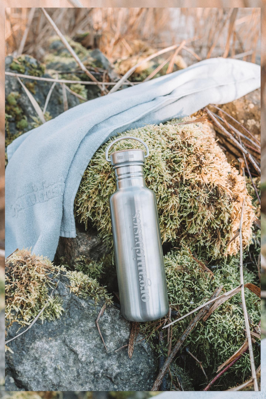 Organic Basics Stainless steel water bottle Klean Kanteen