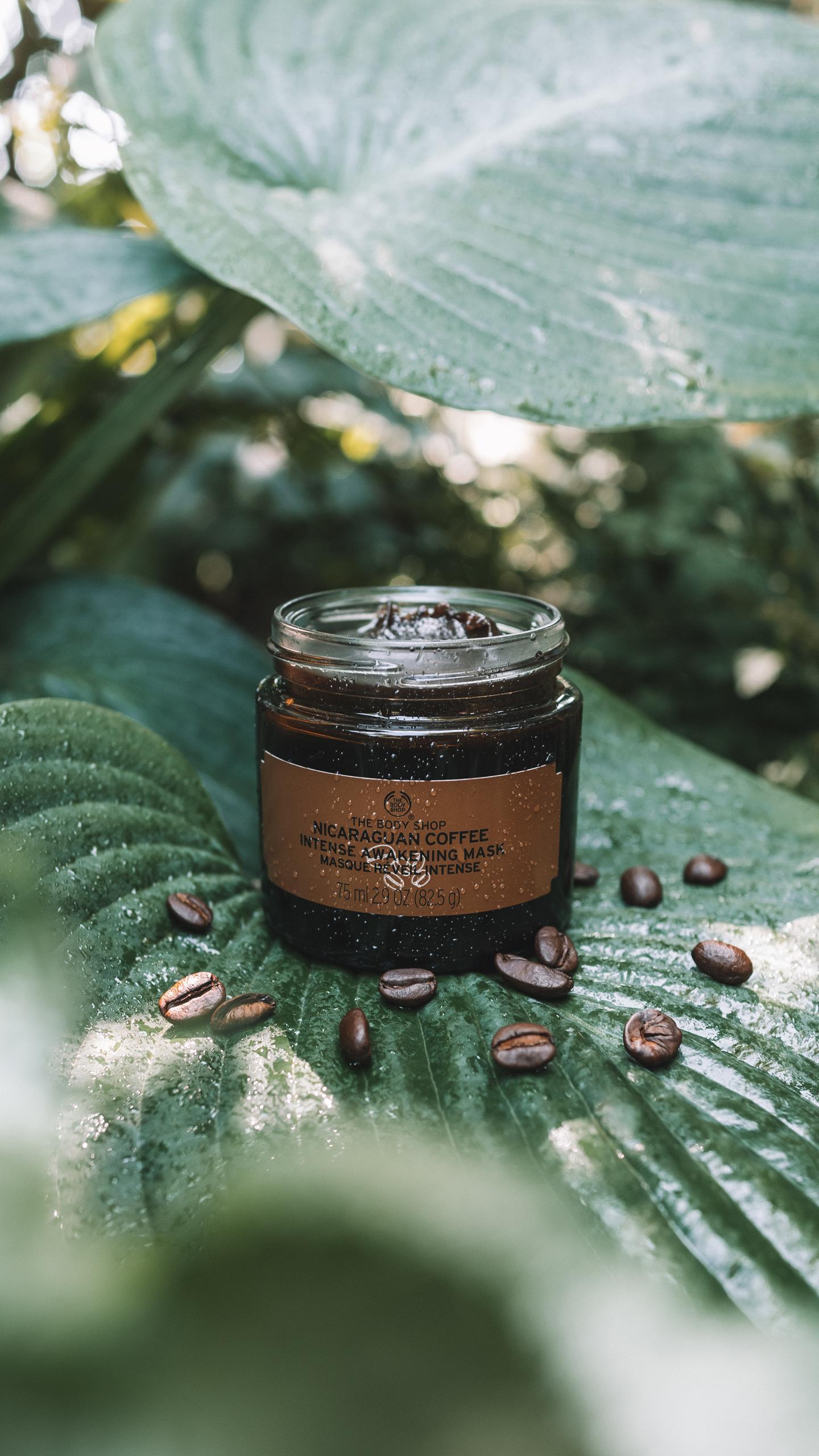 Nicaraguan Coffee Intense Awakening Mask The Body Shop